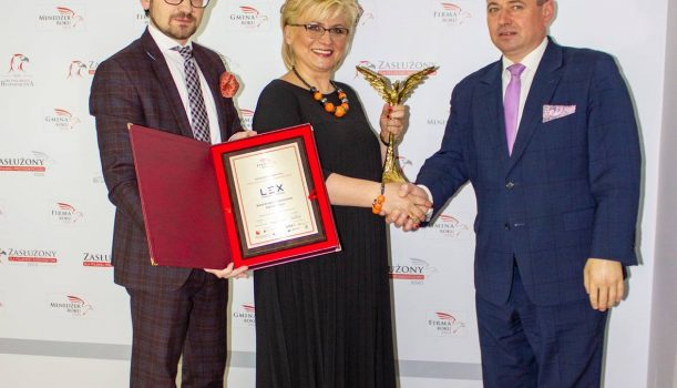 Orzeł Polskiej Przedsiębiorczości dla Kancelarii Finansowej LEX